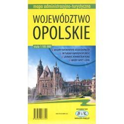Województwo opolskie : mapa administracyjno-turystyczna
