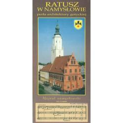 Ratusz w Namysłowie : perła architektury gotyckiej