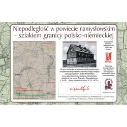 Brzezinka - Szlakiem granicy polsko-niemieckiej w powiecie namysłowskim ustalonej Traktatem Wersalskim z 1919 r.