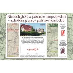 Głuszyna - Szlakiem granicy polsko-niemieckiej w powiecie namysłowskim ustalonej Traktatem Wersalskim z 1919 r.