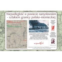 WID-N156 Smogorzów - Szlakiem granicy polsko-niemieckiej w powiecie namysłowskim ustalonej Traktatem Wersalskim z 1919 r.