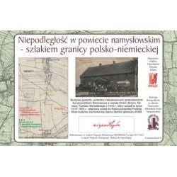 WID-N157 Smyk (Skoroszów) - Szlakiem granicy polsko-niemieckiej w powiecie namysłowskim ustalonej Traktatem Wersalskim z 1919 r.