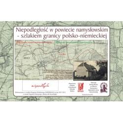WID-N158 Woskowice Małe - Szlakiem granicy polsko-niemieckiej w powiecie namysłowskim ustalonej Traktatem Wersalskim z 1919 r.