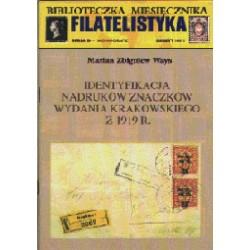 Identyfikacja nadruków znaczków wydania krakowskiego z 1919 r. - M. Ways