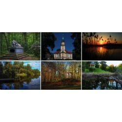 WID-NS08 Pokój: lew, kościół ewangelicko-augsburski, stawy, salon wodny, świątynia Matyldy