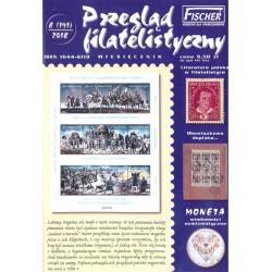 Przegląd Filatelistyczny 2018 nr 08 191