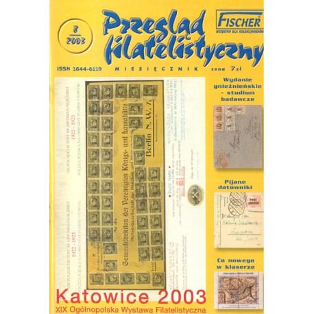 Przegląd Filatelistyczny 2003 nr 08