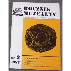 Rocznik Muzealny nr 2 : 1987 - Muzeum Poczty i Telekomunikacji