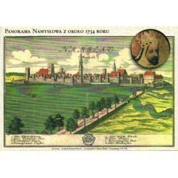 WID-N007 Namysłów, panorama 1734 r.