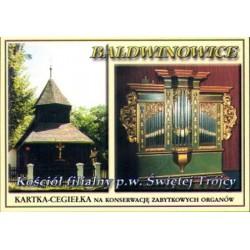 WID-N016 Baldwinowice, kościół, organy
