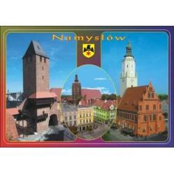 WID-N053 Namysłów - Brama Krakowska, ratusz, kościół Piotra i Pawła