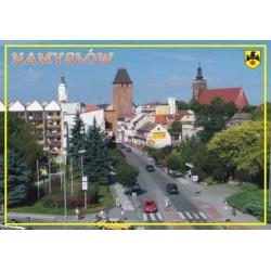 WID-N054 Namysłów  - panorama miasta od strony wschodniej.