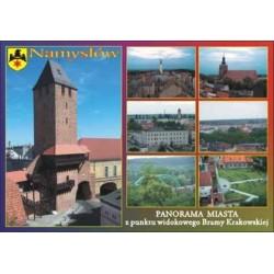 WID-N055 Namysłów, panorama miasta z punktu widokowego Bramy Krakowskiej