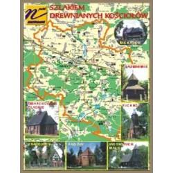 WID-N077 Powiat namysłowski, mapa, kościoły: Michalice, Smarchowice Śl., Baldwinowice, Rychnów, Krasowice, Pągów, Woskowice Małe