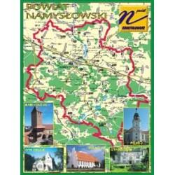 WID-N078 Powiat namysłowski, mapa, foto miejscowości -Namysłów, Pokój, Strzelce, Wilków, Starościn