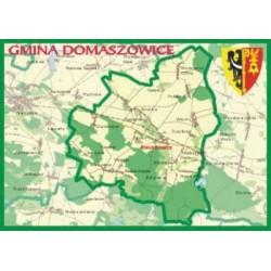 WID-N084 Gmina Domaszowice, mapa