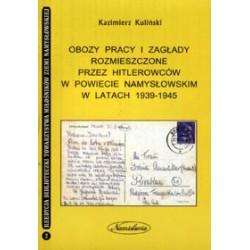 Obozy pracy i zagłady rozmieszczone przez hitlerowców w powiecie namysłowskim w latach 1939-1945