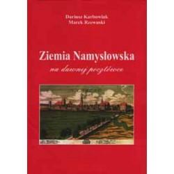 Ziemia Namysłowska na dawnej pocztówce