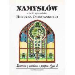 Namysłów z teki rysunków Henryka Ostrowskiego – Spacerów z piórkiem i pędzlem, część 2